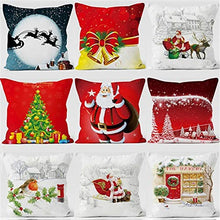 Load image into Gallery viewer, ERAY Custom Pillowcase Personalized Design Your Own Christmas Decorative Throw Pillow Covers for Home Decor