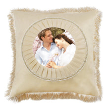 Load image into Gallery viewer, MioCloth Custom Design Photo Text Throw Pillowcase Personalized Pet Photo Retro Vintage Pillow Cushion Cover Wedding Christmas Thanksgiving Birthday Present Memorial Gift Home Couch Decorative Decor