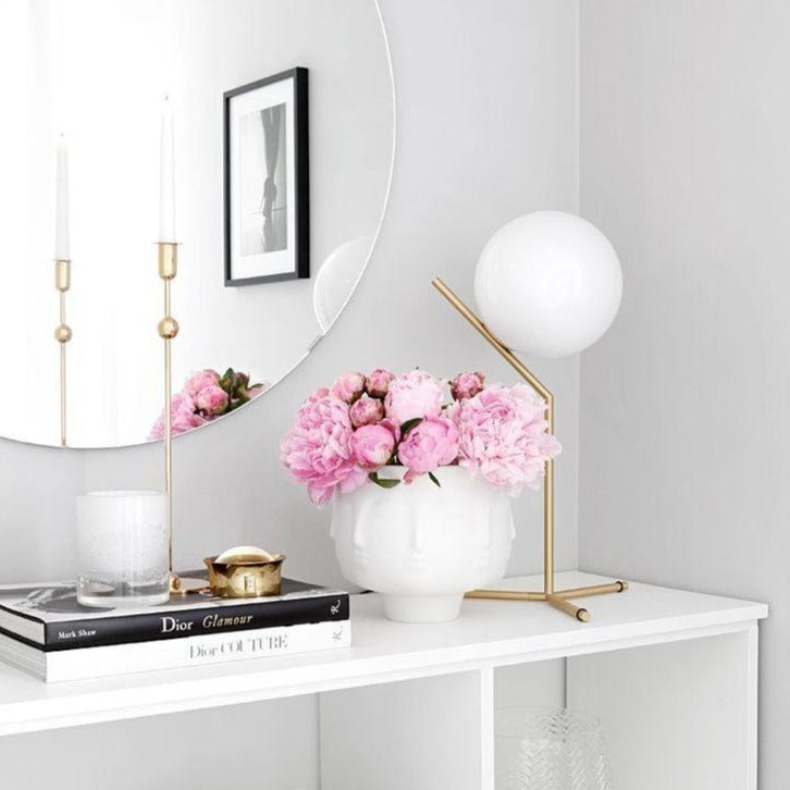 Lille - White Glass Table Lamp Philippines