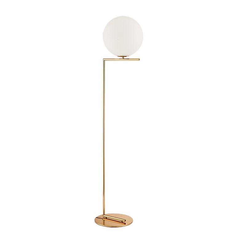 Lille - White Glass Floor Lamp Philippines