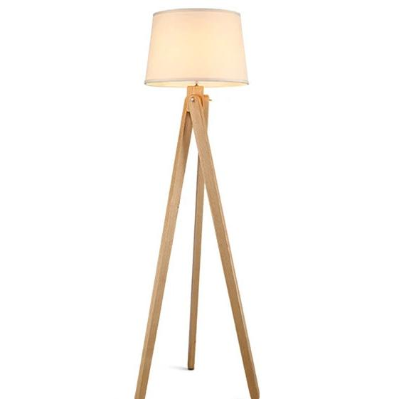 Mati - Wooden Floor Lamp Philippines
