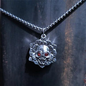 You Are A Badass Skull Necklace