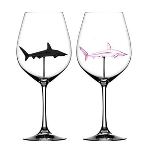 The Shark Wine Goblet (2-Pack)