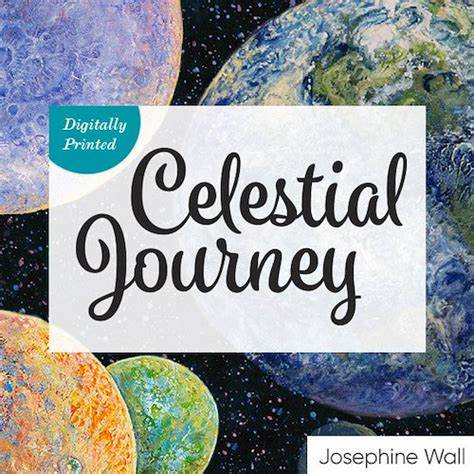 celestial journey 3 wishes fabric