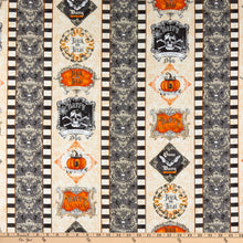 Load image into Gallery viewer, Wilmington Prints - Gone Batty - Repeating Stripe - 1/2 YARD CUT