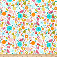 Load image into Gallery viewer, Dear Stella - White Summertime - 1/2 YARD CUT
