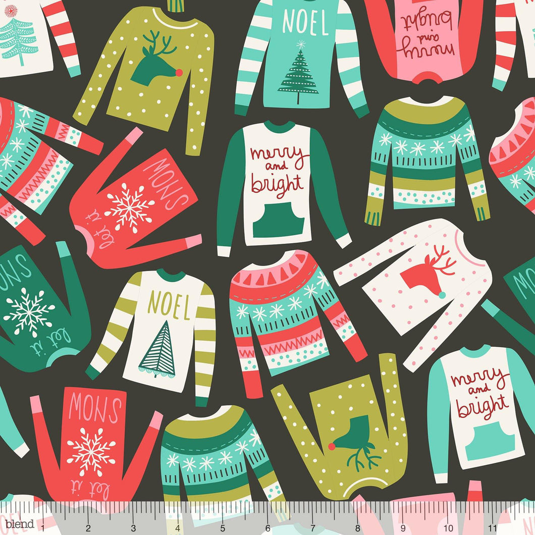 Blend Fabrics - Snugly Sweaters - 1/2 YARD CUT