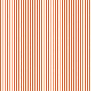 Dear Stella - Dress Stripe - Flame - 1/2 YARD CUT