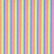 Load image into Gallery viewer, Michael Miller - Rainbow Stripe - 1/2 YARD CUT