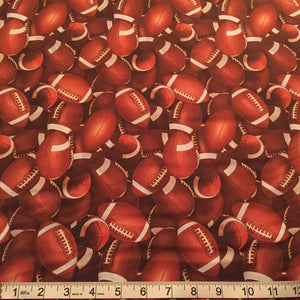 Elizabeth's Studio - Football - Sports - 1/2 YARD CUT