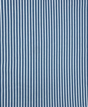 Load image into Gallery viewer, Boundless Fabrics - Stripes - Denim Blue - 1/2 YARD CUT
