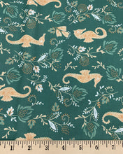 Load image into Gallery viewer, Camelot - Seahorse - Deep Olive - 1/2 YARD CUT