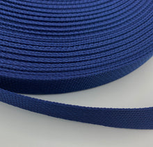 "Load image into Gallery viewer, Navy 1"" Polypro Webbing - BY THE YARD"