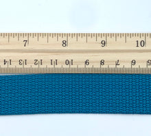 "Load image into Gallery viewer, Turquoise 1"" Polypro Webbing - BY THE YARD"