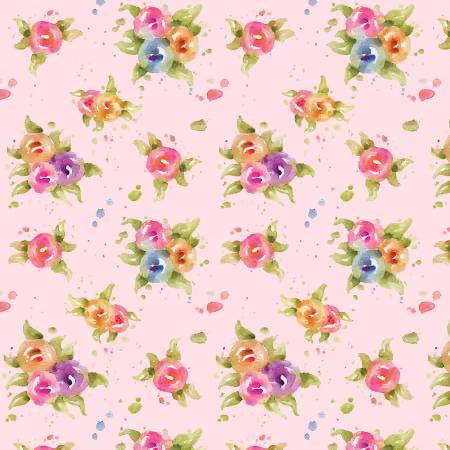 P&B Textiles - Little Darlings - Floral - 1/2 YARD CUT