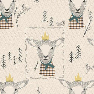 Art Gallery Fabrics - Sir Wooly - 1/2 YARD CUT