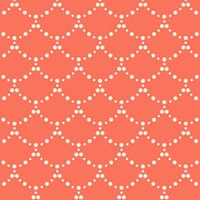 Load image into Gallery viewer, Art Gallery Fabrics - Ripples - Coral - 1/2 YARD CUT