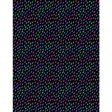 Load image into Gallery viewer, Wilmington Prints - Black Rainbow Drops - 1/2 YARD CUT
