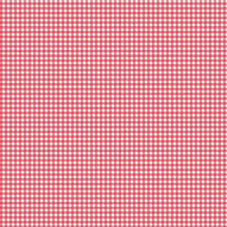 Riley Blake - Gingham - Red - 1/2 YARD CUT