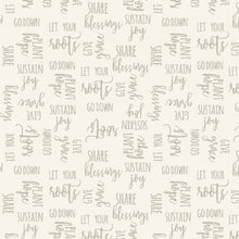 Load image into Gallery viewer, P&B Textiles - Light Lavender Words - 1/2 YARD CUT
