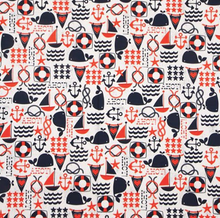 Load image into Gallery viewer, Michael Miller - Ahoy Matey - 1/2 YARD CUT