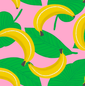 Blend Fabrics - Tutti Frutti - That's Bananas - 1/2 YARD CUT