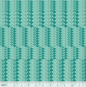 Blend Fabrics - Leilani - Cacti Blue - 1/2 YARD CUT - Dreaming of the Sea Fabrics