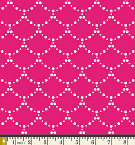 Art Gallery Fabrics - Ripples - Pink - 1/2 YARD CUT