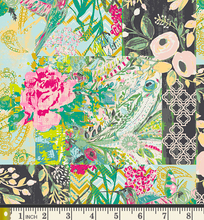 Load image into Gallery viewer, Art Gallery Fabrics - Collage Poise - Glam - 1/2 YARD CUT