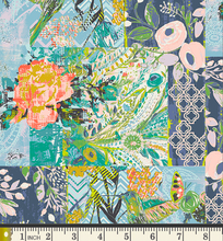 Load image into Gallery viewer, Art Gallery Fabrics - Collage Poise - Deco - 1/2 YARD CUT