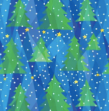 Load image into Gallery viewer, P&B Textiles - Evergreen Night - 1/2 YARD CUT