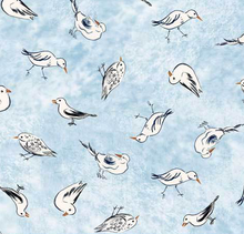Load image into Gallery viewer, P&B Textiles - Sailors Rest - Sea Gulls - 1/2 YARD CUT