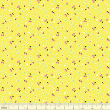 Load image into Gallery viewer, Blend Fabrics - Tiny Berries - Yellow - 1/2 YARD CUT