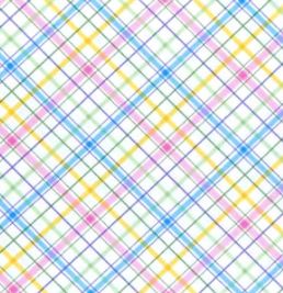Timeless Treasures - Spring Plaid - Multi-colored - 1/2 YARD CUT