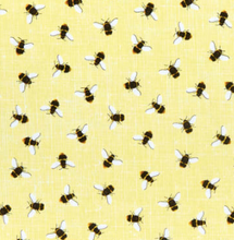 Load image into Gallery viewer, Timeless Treasures - Bees - Yellow - 1/2 YARD CUT