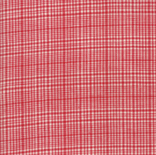 Load image into Gallery viewer, Moda Fabrics - Picnic Basket - Plaid Red - 1/2 YARD CUT