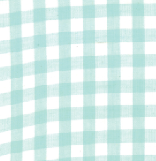 Moda Fabrics - Bonnie Camille - Check - Aqua - 1/2 YARD CUT