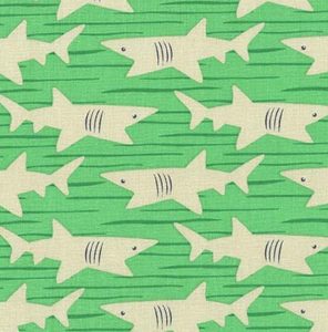Michael Miller - Basking Sharks - 1/2 YARD CUT