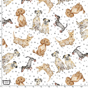 Michael Miller - Paws Up! - Precious Pets - 1/2 YARD CUT