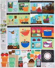 Load image into Gallery viewer, P&B Textiles - The Growing Garden Book Panel