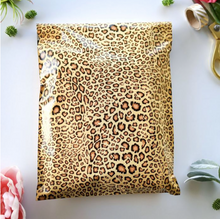 "Load image into Gallery viewer, Leopard Polymailers 10""x13"" Qty 38"