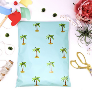 "Palm Tree Polymailers 10""x13"" Qty 38"