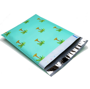 "Palm Tree Polymailers 10""x13"" Qty 100"