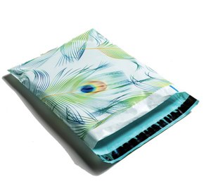 "Peacock Polymailers 10""x13"" Qty 100"