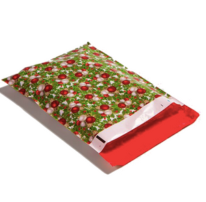"Christmas Ornaments Polymailers 10""x13"" Qty 100"