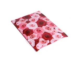 "Rose Floral Polymailers 10""x13"" Qty 38"