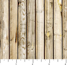 Load image into Gallery viewer, Northcott - Rod and Reel - Wood Planks - 1/2 YARD CUT