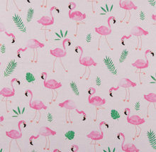 Load image into Gallery viewer, Kanvas - Flamingo Frenzy - Pink - 1/2 YARD CUT