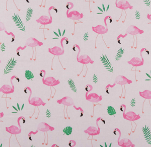 Kanvas - Flamingo Frenzy - Pink - 1/2 YARD CUT