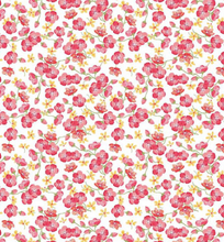 Load image into Gallery viewer, Riley Blake - Glohaven Floral - Small - White - 1/2 YARD CUT